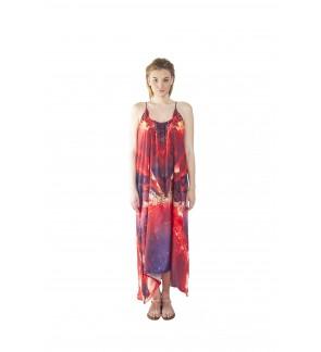 Inferno/Vivid (Max) Long Maxi Dress (SDOMAF02)